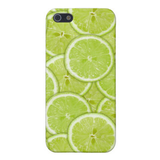 Pattern Of Green Lime Slices iPhone 5/5S Covers