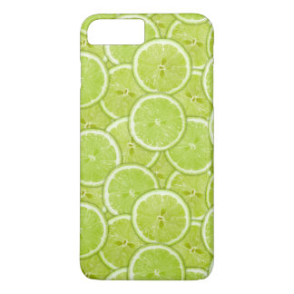 Pattern Of Green Lime Slices iPhone 7 Plus Case