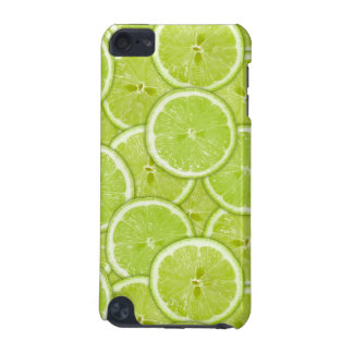 Pattern Of Green Lime Slices iPod Touch (5th Generation) Cases