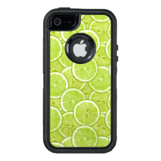 Pattern Of Green Lime Slices OtterBox iPhone 5/5s/SE Case