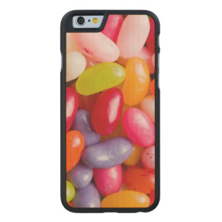 Pattern of jelly beans carved maple iPhone 6 case