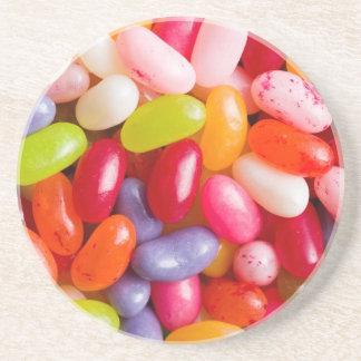 Pattern of jelly beans coaster