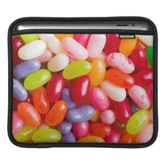 Pattern of jelly beans iPad sleeve