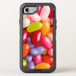 Pattern of jelly beans OtterBox defender iPhone 7 case