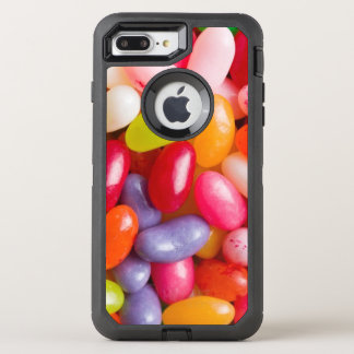 Pattern of jelly beans OtterBox defender iPhone 7 plus case