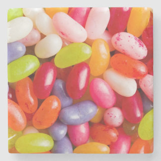 Pattern of jelly beans stone coaster