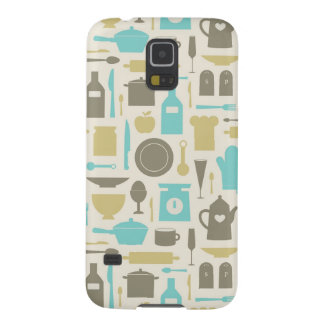 Pattern Of Kitchen Tools Cases For Galaxy S5