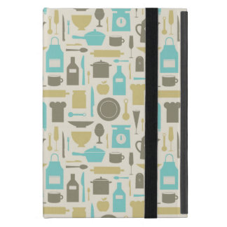 Pattern Of Kitchen Tools Cover For iPad Mini