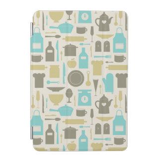Pattern Of Kitchen Tools iPad Mini Cover