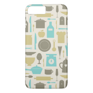 Pattern Of Kitchen Tools iPhone 8 Plus/7 Plus Case