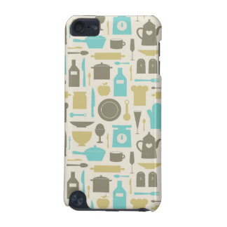 Pattern Of Kitchen Tools iPod Touch (5th Generation) Cases