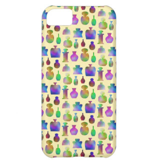Pattern of Many Colorful Perfume Bottles. iPhone 5C Case