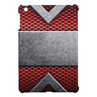 Pattern of metal plate iPad mini case