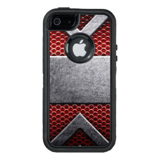 Pattern of metal plate OtterBox defender iPhone case