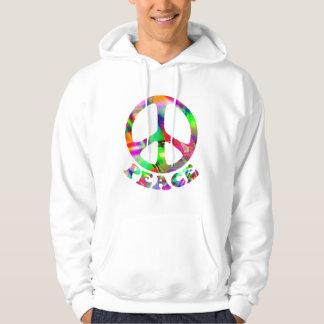 Pattern of Peace Hoodies