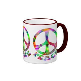 Pattern of Peace Mugs