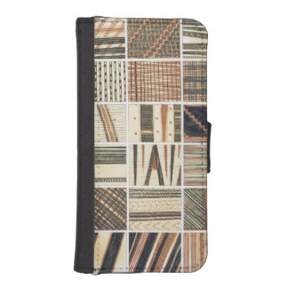 Pattern of Polynesian tapa from Cook's iPhone 5 Wallet Cases