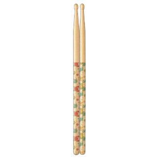 pattern of sea creatures drumsticks