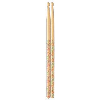 pattern of smiles drumsticks