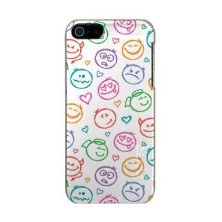 pattern of smiles incipio feather® shine iPhone 5 case