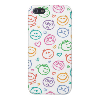 pattern of smiles iPhone 5 cover