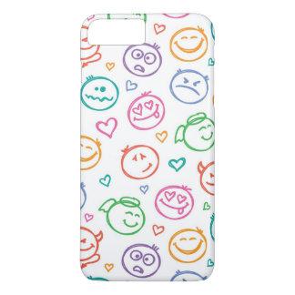 pattern of smiles iPhone 8 plus/7 plus case
