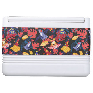 Pattern Of The Lovers Frogs Igloo Cooler