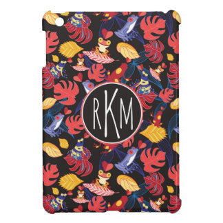 Pattern Of The Lovers Frogs | Monogram iPad Mini Covers