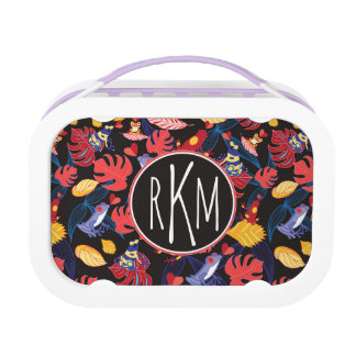 Pattern Of The Lovers Frogs | Monogram Lunch Box