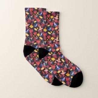 Pattern Of The Lovers Frogs Socks