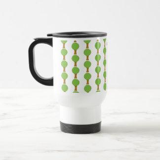 Pattern of Trees. Travel Mug