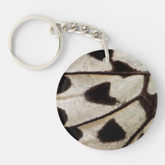 Pattern of Tropical Butterfly Key Ring