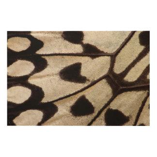 Pattern of Tropical Butterfly Wood Wall Art