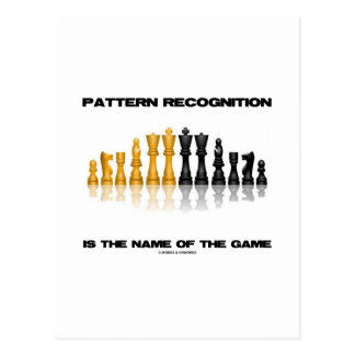 Pattern Recognition Is The Name Of The Game Chess Post Cards