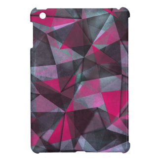 pattern red black iPad mini covers