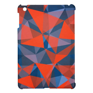 pattern red blue case for the iPad mini
