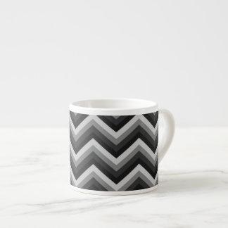 Pattern Retro Zig Zag Chevron Espresso Cup