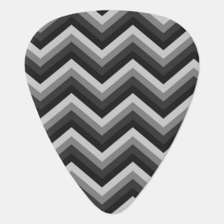 Pattern Retro Zig Zag Chevron Guitar Pick