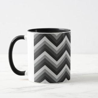 Pattern Retro Zig Zag Chevron Mug