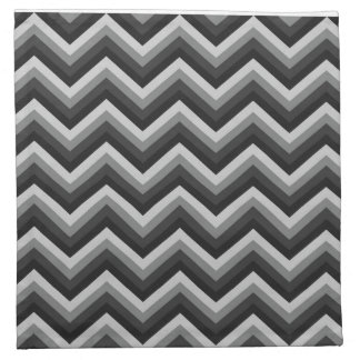 Pattern Retro Zig Zag Chevron Napkin
