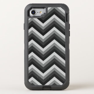 Pattern Retro Zig Zag Chevron OtterBox Defender iPhone 8/7 Case