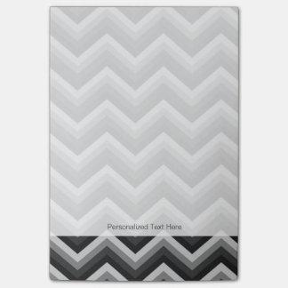 Pattern Retro Zig Zag Chevron Post-it Notes