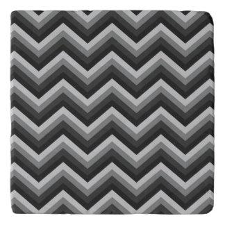 Pattern Retro Zig Zag Chevron Trivet