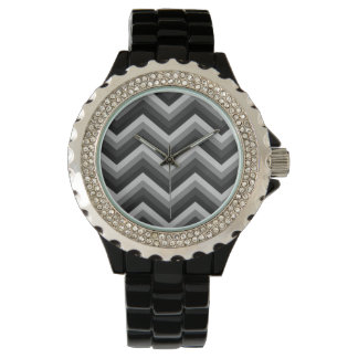 Pattern Retro Zig Zag Chevron Watches