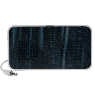 pattern serie waves 1 blue notebook speakers