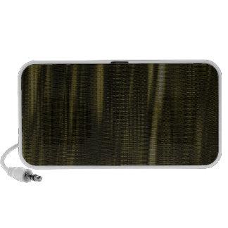 pattern serie waves 1 green laptop speakers