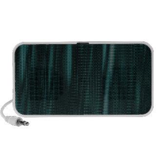 pattern serie waves 1 turquoise iPhone speaker