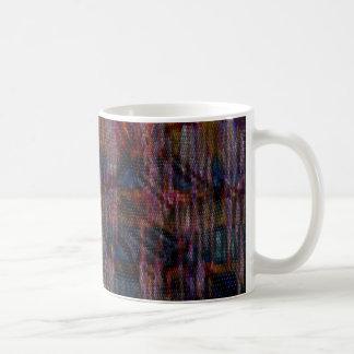 pattern that simulates the skin multicolored snake basic white mug