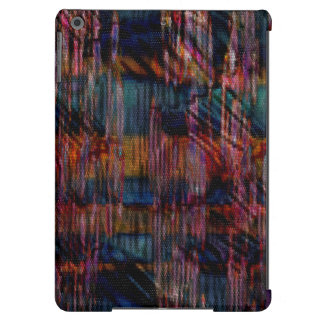 pattern that simulates the skin multicolored snake iPad air cover