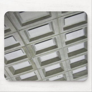 Pattern tile ceiling mouse pad